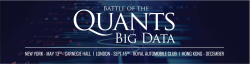 Battle of the Quants London: BIG DATA